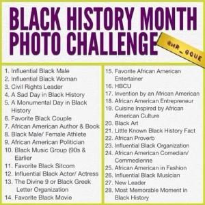 Black History Photo Challenge